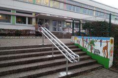 Geländer Pestalozzischule